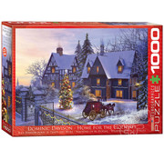 Eurographics Eurographics Home for the Holidays Puzzle 1000pcs