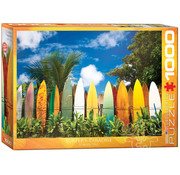 Eurographics Eurographics Surfer's Paradise Hawaii Puzzle 1000pcs