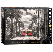 Eurographics Eurographics New Orleans, Streetcars Puzzle 1000pcs