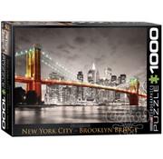 Eurographics Eurographics New York City, Brooklyn Bridge Puzzle 1000pcs
