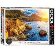 Eurographics Eurographics Sunset on the Pacific Coast Puzzle 1000pcs