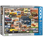 Eurographics Eurographics Jeep Advertising Collection Puzzle 1000pcs