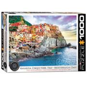 Eurographics Eurographics Manarola, Cinque Terre Italy Puzzle 1000pcs