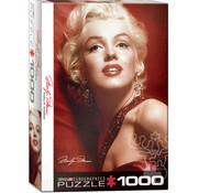 Eurographics Eurographics Marilyn Monroe Red Portrait Puzzle 1000pcs
