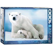 Eurographics Eurographics Polar Bear & Baby Puzzle 1000pcs