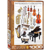 Eurographics Eurographics Instruments of the Orchestra Puzzle 1000pcs