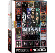 Eurographics Eurographics KISS The Albums Puzzle 1000pcs