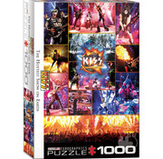Eurographics Eurographics KISS The Hottest Show on Earth Puzzle 1000pcs