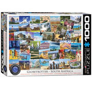 Eurographics Eurographics Globetrotter South America Puzzle 1000pcs
