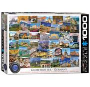 Eurographics Eurographics Globetrotter Germany Puzzle 1000pcs