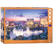 Eurographics Eurographics Las Vegas Strip Puzzle 1000pcs