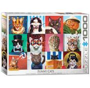 Eurographics Eurographics Funny Cats Puzzle 1000pcs