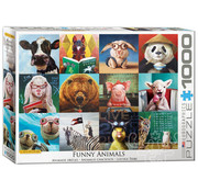 Eurographics Eurographics Funny Animals Puzzle 1000pcs
