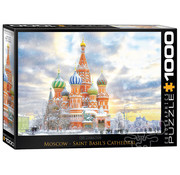 Eurographics Eurographics Moscow - Saint Basil's Cathedral Russia Puzzle 1000 pcs