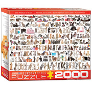 Eurographics Eurographics The World of Cats Puzzle 2000pcs