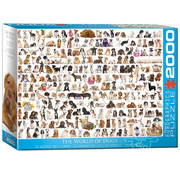Eurographics Eurographics The World of Dogs Puzzle 2000pcs