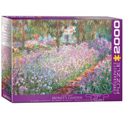 Eurographics Eurographics Monet's Garden Puzzle 2000pcs