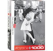 Eurographics Eurographics LIFE VJ Day Kiss Times Square Puzzle 1000pcs
