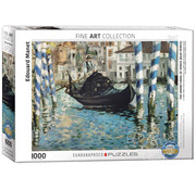 Eurographics Eurographics The Grand Canal of Venice (Blue Venice) Puzzle 1000pcs
