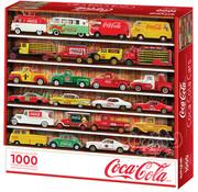 Springbok Springbok Coca-Cola Cars Puzzle 1000pcs