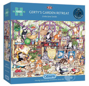 Gibsons Gibsons Gerty's Garden Retreat Puzzle 1000pcs
