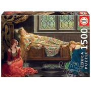 Educa Borras Educa The Sleeping Beauty, John Collier Puzzle 1500pcs