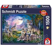 Schmidt Schmidt Wolves Puzzle 1500pcs