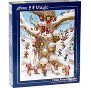 Vermont Christmas Company Vermont Christmas Co. Elf Magic Puzzle 1000pcs