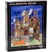 Vermont Christmas Company Vermont Christmas Co. Haunted House Puzzle 1000pcs