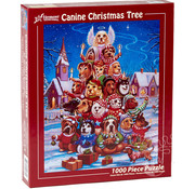 Vermont Christmas Company Vermont Christmas Co. Canine Christmas Tree Puzzle 1000pcs