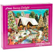 Vermont Christmas Company Vermont Christmas Co. Snowy Delight Puzzle 1000pcs