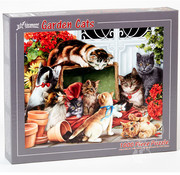 Vermont Christmas Company Vermont Christmas Co. Garden Cats Puzzle 1000pcs