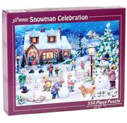 Vermont Christmas Company Vermont Christmas Co. Snowman Celebration Puzzle 550pcs