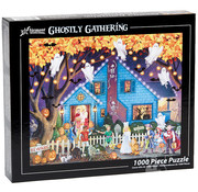 Vermont Christmas Company Vermont Christmas Co. Ghostly Gathering Puzzle 1000pcs