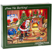 Vermont Christmas Company Vermont Christmas Co. No Barking! Puzzle 1000pcs