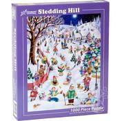 Vermont Christmas Company Vermont Christmas Co. Sledding Hill Puzzle 1000pcs