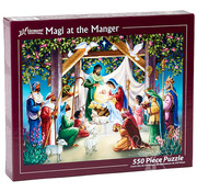 Vermont Christmas Company Vermont Christmas Co. Magi at the Manger Puzzle 550pcs