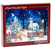 Vermont Christmas Company Vermont Christmas Co. Peaceful Night Puzzle 550pcs