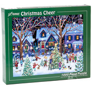 Vermont Christmas Company Vermont Christmas Co. Christmas Cheer Puzzle 1000pcs