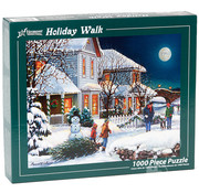Vermont Christmas Company Vermont Christmas Co. Holiday Walk Puzzle 1000pcs