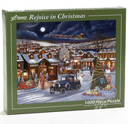 Vermont Christmas Company Vermont Christmas Co. Rejoice in Christmas Puzzle 1000pcs