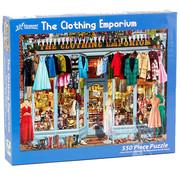 Vermont Christmas Company Vermont Christmas Co. The Clothing Emporium Puzzle 550pcs