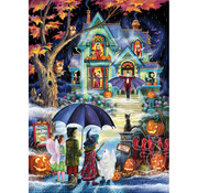 Vermont Christmas Company Vermont Christmas Co. Fright Night Puzzle 1000pcs