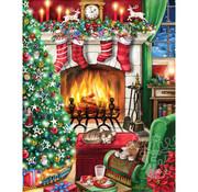 Vermont Christmas Company Vermont Christmas Co. Cozy Christmas Puzzle 550pcs