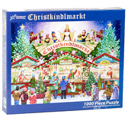 Vermont Christmas Company Vermont Christmas Co. Christkindlmarkt Puzzle 1000pcs