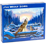 Vermont Christmas Company Vermont Christmas Co. Wolf Song Puzzle 1000pcs