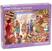 Vermont Christmas Company Vermont Christmas Co. Village Grocer Puzzle 1000pcs