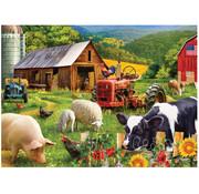 Vermont Christmas Company Vermont Christmas Co. Farm Friends Puzzle 1000pcs