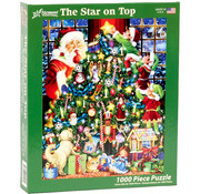 Vermont Christmas Company Vermont Christmas Co. The Star on Top Puzzle 1000pcs