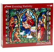 Vermont Christmas Company Vermont Christmas Co. Evening Nativity Puzzle 550pcs